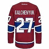 Alex Galchenyuk Montreal Canadiens Reebok Premier Home Jersey NHL Replica
