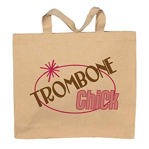 Trombone Chick Totebag Bag (Trombone Chick)