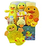 Art of Appreciation Gift Baskets Splish Splash Baby Bath Time Fun Care Package Gift Box, Neutral Boy or Girl