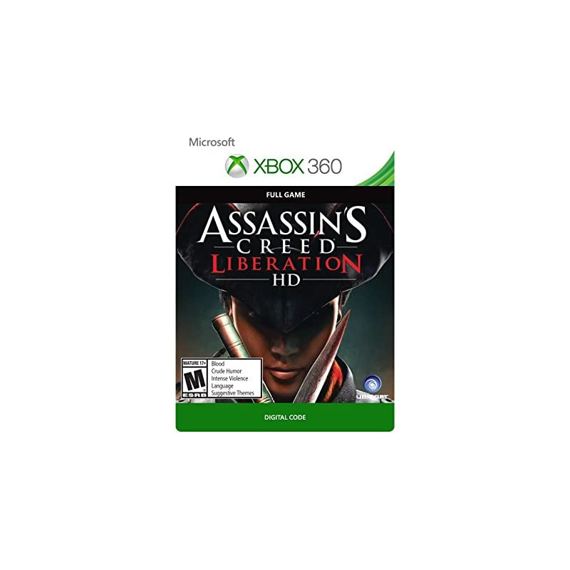 Assassin's Creed Liberation - Xbox 360 [Digital Code]