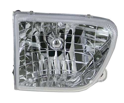 Headlight Headlamp Passenger Side Right RH for 98-01 Mercury Mountaineer ()