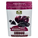 Prunes, 1 Pound Dried Pitted Prunes from Basse Dried Fruits - 16 oz Bag of Dried Prunes, Best Foods For Weight Loss, Delicious Sweet Prunes full of Nutrition and Health Benefits