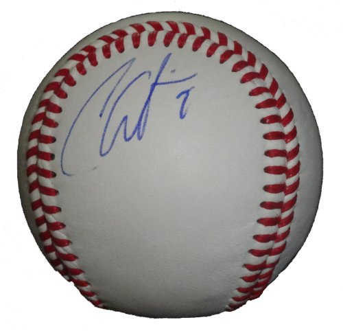 Seattle Mariners Chone Figgins Autographed Hand Signed Baseball with Proof Photo and COA, Los Angeles Angels, LA - Hand Mariners Seattle Signed