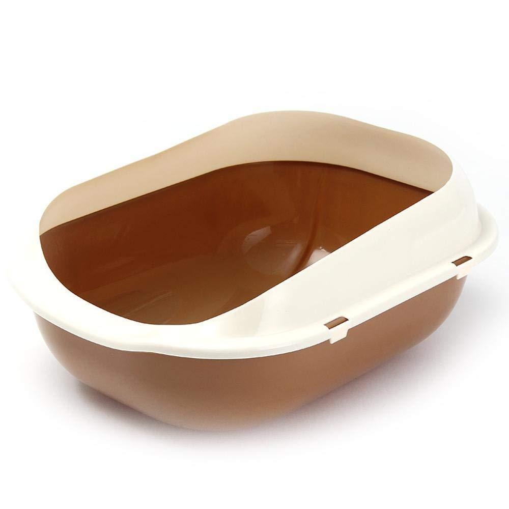 Axiba Pet toilet Pet Supplies pp Resin semi-closed cat sand basin