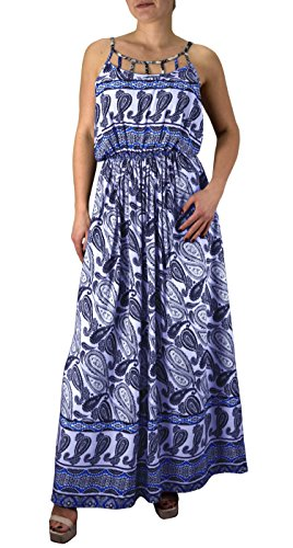 peach-couture-paisley-printed-cut-out-neck-smocked-waist-summer-maxi-dress-navy-blue-large