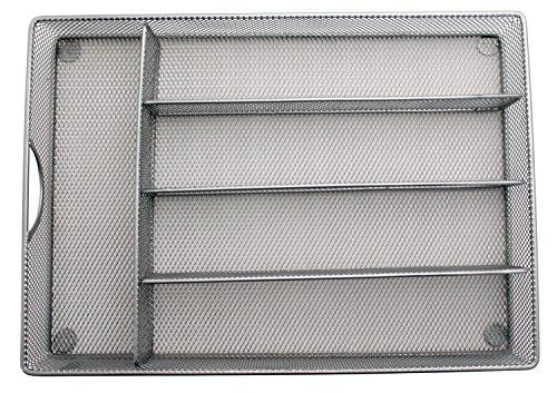 Yesker Mesh Small Cutlery Tray with Foam Feet - Kichen Organization/Silverware Storage by Storage Techngologies by Yesker (Image #4)