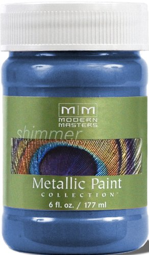 Price comparison product image Modern Masters ME655-06 Metallic Sapphire,  6-Ounce
