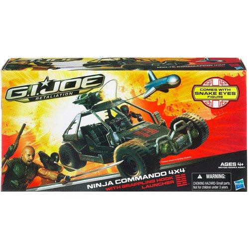 Amazon.com : G.I. Joe Retaliation Ninja Commando 4x4 Vehicle ...