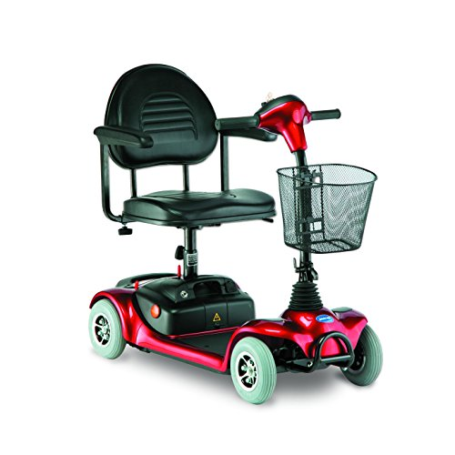 Invacare Lynx L-4 Scooter Red