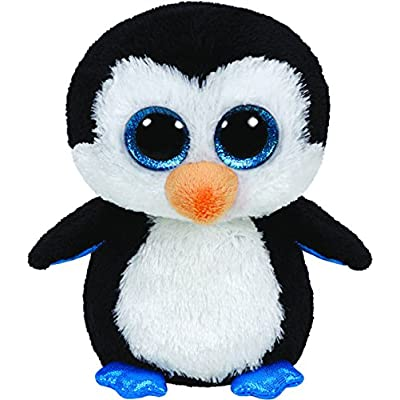 Ty Boo Buddy Waddles Penguin: Toys & Games