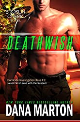 Deathwish: A Small-Town Christmas Romantic Mystery (Broslin Creek series Book 6) (English Edition)