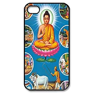 Buddha Siddhartha Gautama Shakyamuni Hard Cover Case For Ipod Touch 4 Cover -black CASE