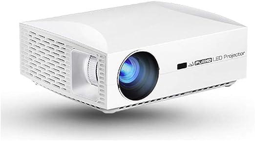 ZXGHS Mini Proyector, 1080P Proyector De Cine En Casa 6500 Lúmenes ...