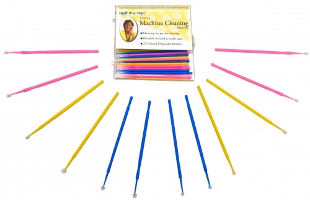 Quilt in a Day Sewing Machine Cleaning Brushes (1 Pack of 25)