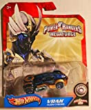 die cast zord - Hot Wheels Power Rangers Megaforce 1:50 Die Cast Car Vrak Alien Cyborg