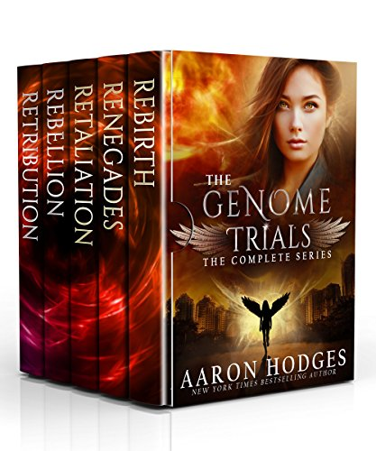 The Genome Trials: The Complete Series by [Hodges, Aaron]
