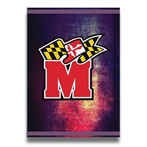 U9 University Of Maryland Terps Solid Wood Frameless Pictures Frame Modern Decorative 1620 Inch