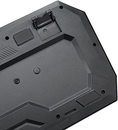 AmazonBasics - Gaming-Tastatur, mechanische Haptik (QWERTZ Layout)