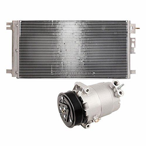 AC Compressor w/A/C Condenser & Drier For Chevy Malibu & Saturn Aura Hybrid - BuyAutoParts 60-89241R3 New