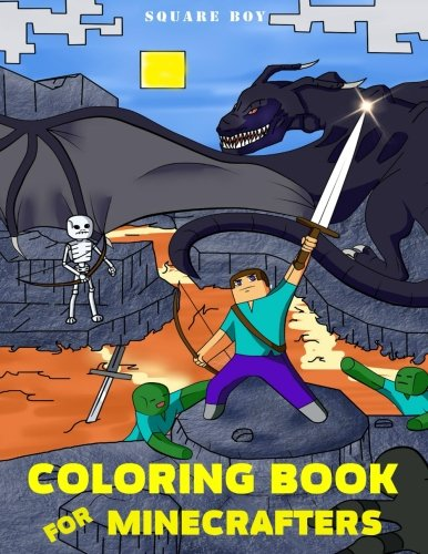 Price comparison product image Coloring Book For Minecrafters: Fun Coloring Pages for Kids and Any Fan. (Unofficial Minecraft Coloring Book) (Volume 1)