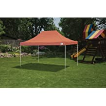 Truss Pro Pop-up Canopy 10 X 15 Ft (Terracotta) with Wheeled Storage Bag