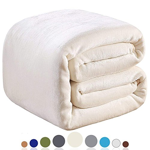 Amazon Com Richave Polar Fleece Blankets King Size For