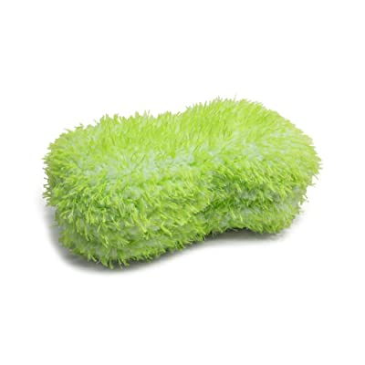 Autofiber [Green Monster] Car Wash Sponge (9 in. x 5 in. x 3 in.) 1 Pack: Automotive