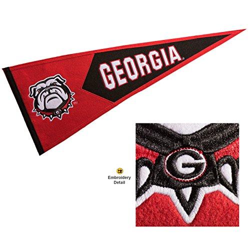 Winning Streak Georgia Bulldogs Wool Embroidered and Sewn Pennant