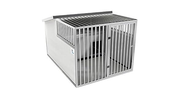 TRDC Perrera para Exterior Residence Artic + área para Dormir.: Amazon.es: Productos para mascotas
