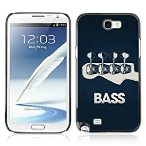 YOYOSHOP [Bass Guitar ] Samsung Galaxy Note 2 Case