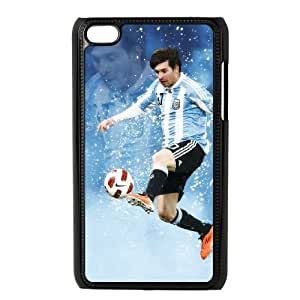 Lionel Messi For Ipod Touch 4 Cases Cell phone Case Fann Plastic Durable Cover