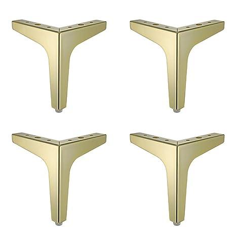 Amazon.com: Patas de baño chapadas en oro con tres patas de ...