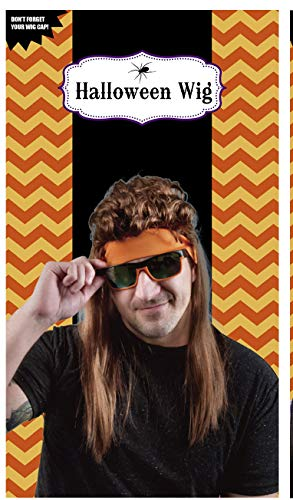 Clever Home Halloween Mens Wigs - Assorted Colors