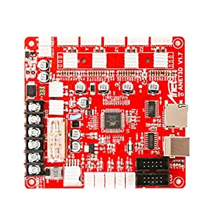 SODIAL V1.7 Panel De Control Placa Madre Placa Base para Anet A8 ...