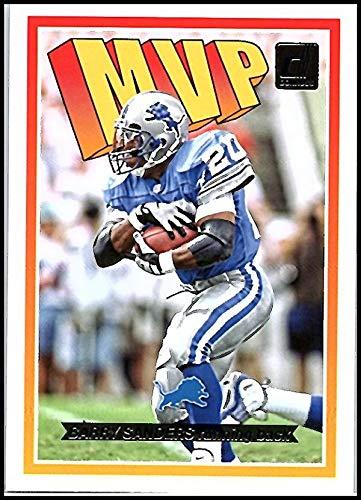 2018 Donruss MVP Football Card #12 Barry Sanders NM-MT Detroit Lions Official NFL Trading Card ()