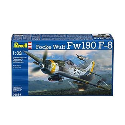 Revell 04869 Focke Wulf Fw190 F-8 Model Kit: Toys & Games