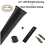 #5: PET Expandable Braided Sleeving 1/4