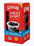 Lindsay Snack and Go! Medium Black Ripe Pitted