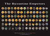 The Byzantine Emperors Coins Poster 24x18