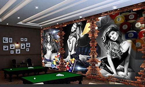 Mural 3D Fondo De Pantalla 3D Imagen De Billar Fondo De Billar Fondo De Pantalla De Billar, Mesa De Ping Pong, 430 Cm X 300 Cm: Amazon.es: Bricolaje y herramientas