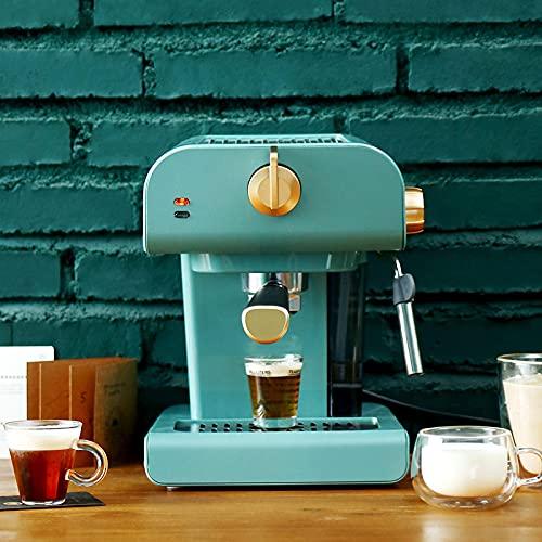 220 V automatische espressomachine, sproeier, latte, koffiezetapparaat, retro vintage design koffiezetapparaat