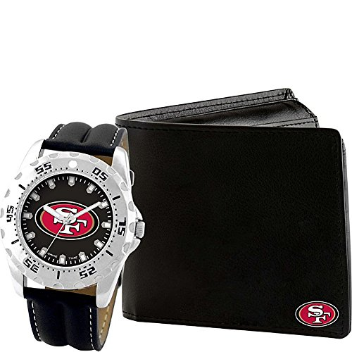 Game Time Watch and Wallet Gift Set - NFL