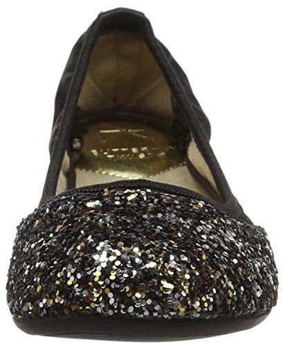 Ashley Butterfly Punta 759 Ballerine Donna Chiusa Nero Twists Black 55Rx4