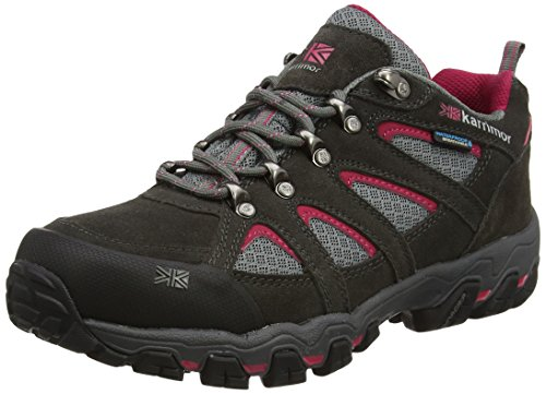 Bodmin Weathertite amp; Ladies Trekking UK 5 Wanderhalbschuhe Karrimor Grey Low Grau Dark Damen 5 1XqwzxS5