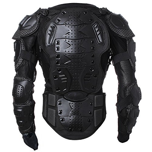 Motorcycle Racing Enduro Body Armor Spine Chest Protective Gear Motocross Accessories Safety Protector Sport Jacket Black Size L Fit For Vespa ET2 ET4 Limited