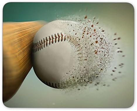 baseball hitthe ball disintegrating Mouse pad gaming mouse pad mice pad mouse pad the office mat Mousepad Nonslip Rubber Backing
