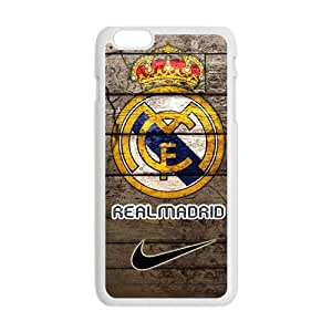 Real Madrid Fashion Comstom Plastic case cover For Iphone 6 Plus
