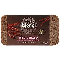 Biona Organic Rye Amaranth Quinoa Bread 500g (Pack of 6)