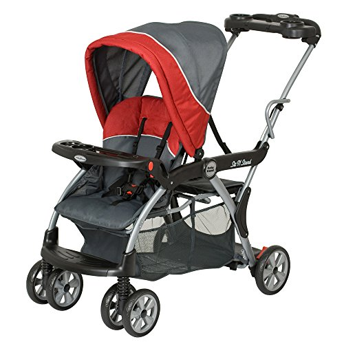 Baby Trend Sit n Stand Deluxe Stroller, Baltic