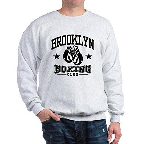 CafePress Brooklyn Boxing Sweatshirt Classic Crew Neck Sweatshirt Ash Grey
